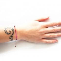 Onyx Bracelet bi color RD/PK