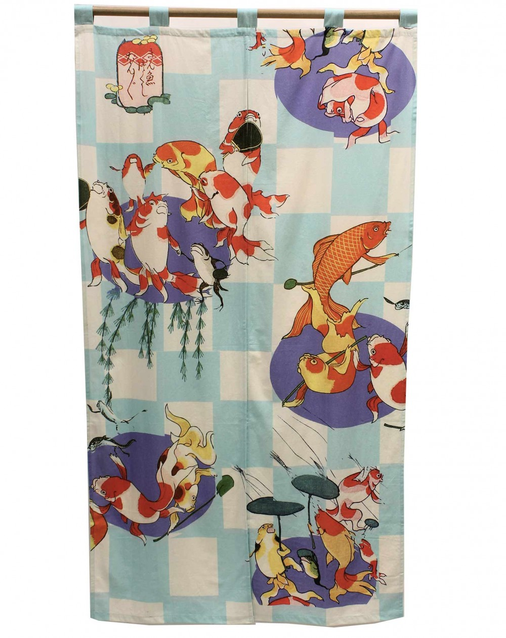 Curtain Noren Ukiyoé Goldfish