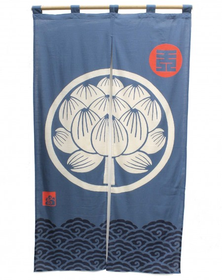 Noren Lotus Curtain
