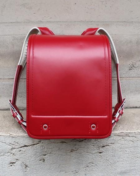 Cartable Japonais 'Randoseru' Neuf Rouge x Carreaux
