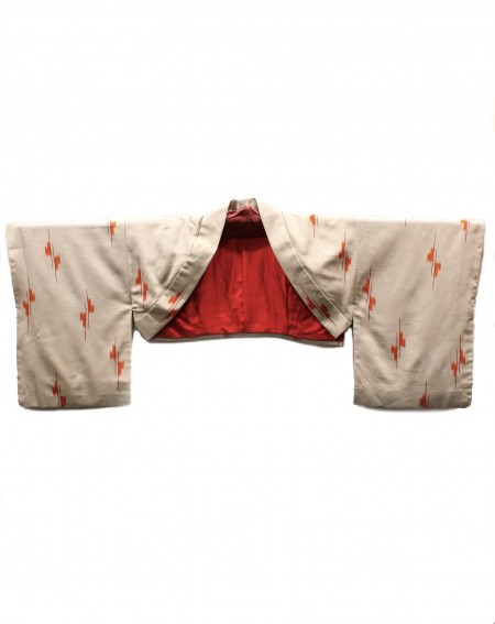 Kimono cache-épaule beige