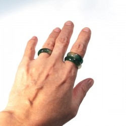 Simple stone ring