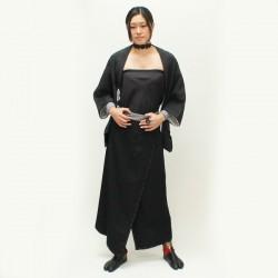 Kimono skirt with pocket