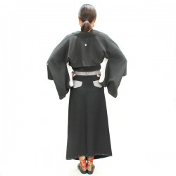 Kimono skirt with pocket