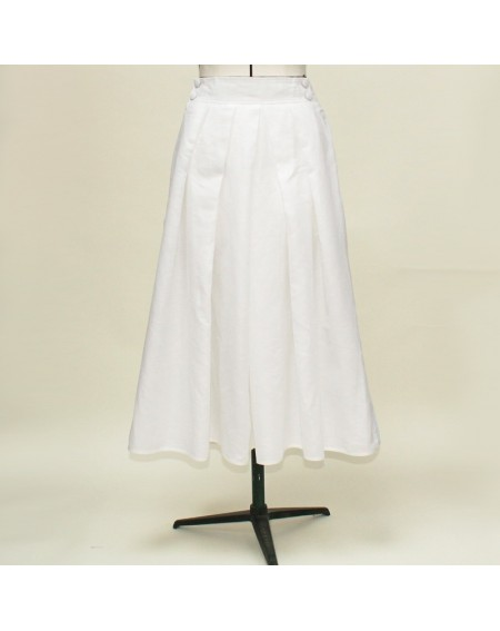 Hakama skirt white
