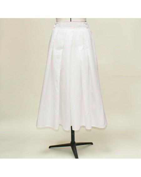 Hakama skirt white