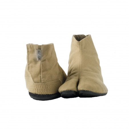 Japanese COBA Ankle Boots - Beige