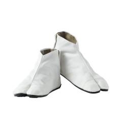 Japanese COBA Ankle Boots - White