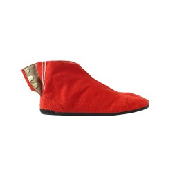 Japanese ankle boots Coba-red