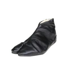 Japanese ankle boots Uba-black