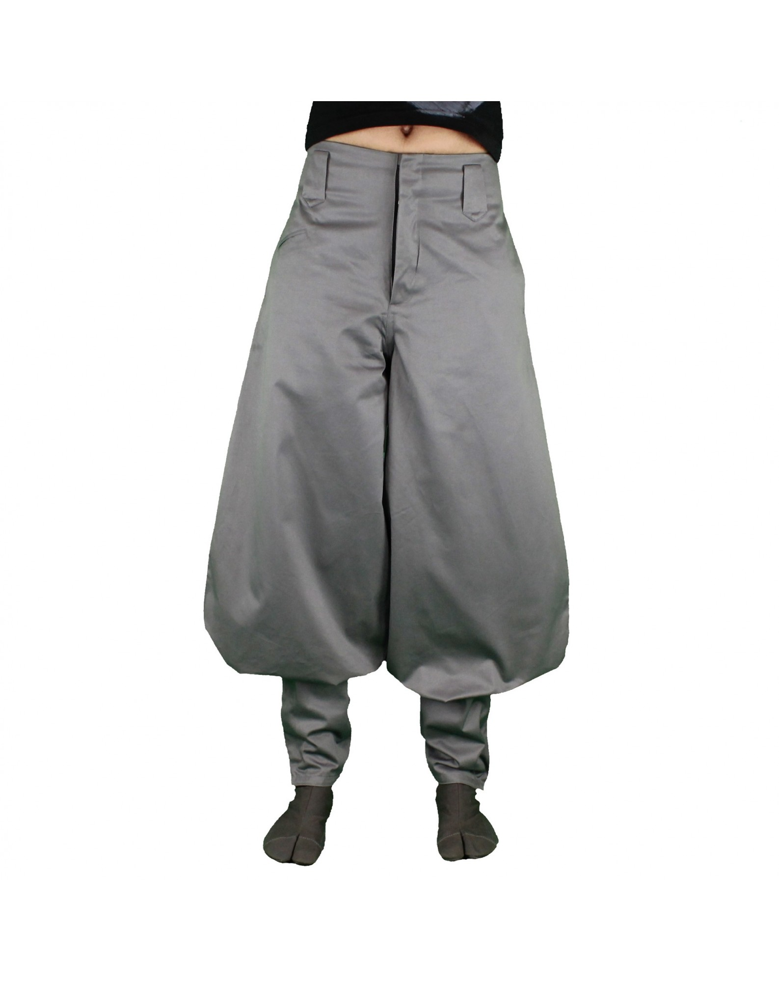 Nikka pants gray & blue
