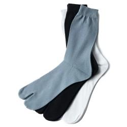 Chaussettes japonaises montantes unies