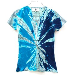 T-shirt Flash bleu