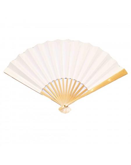 L'éventail japonais en bambou et papier