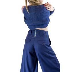 Nikka Long Trousers in Wool