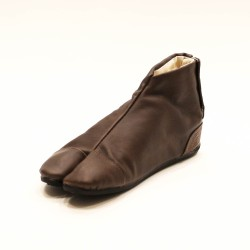 Japanese ankle boots Uba-brown