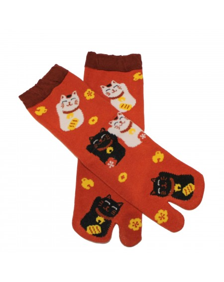 Tabi low socks with 2 toes CAT