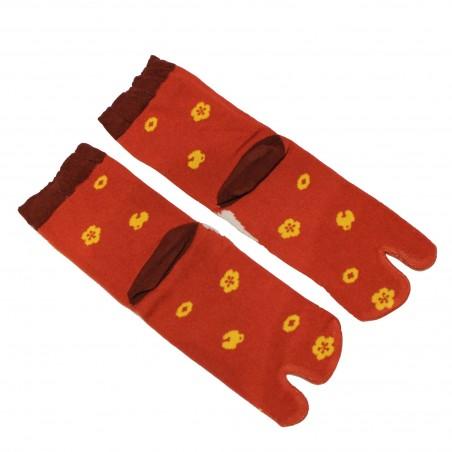 Chaussettes Tabi basse à 2 orteils
