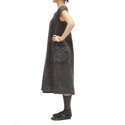 Apron Dress stone wash
