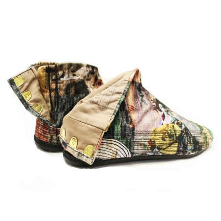JAPANESE ANKLE BOOTS COBA GEISHA