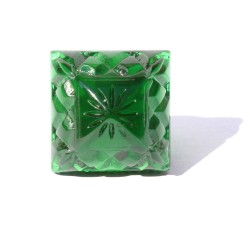 CARVED CRYSTAL SCULPTED RING