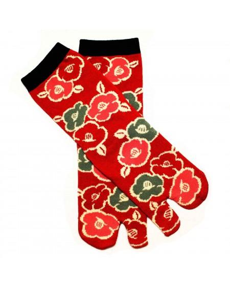 TABI Socks Camellia Size 36-39