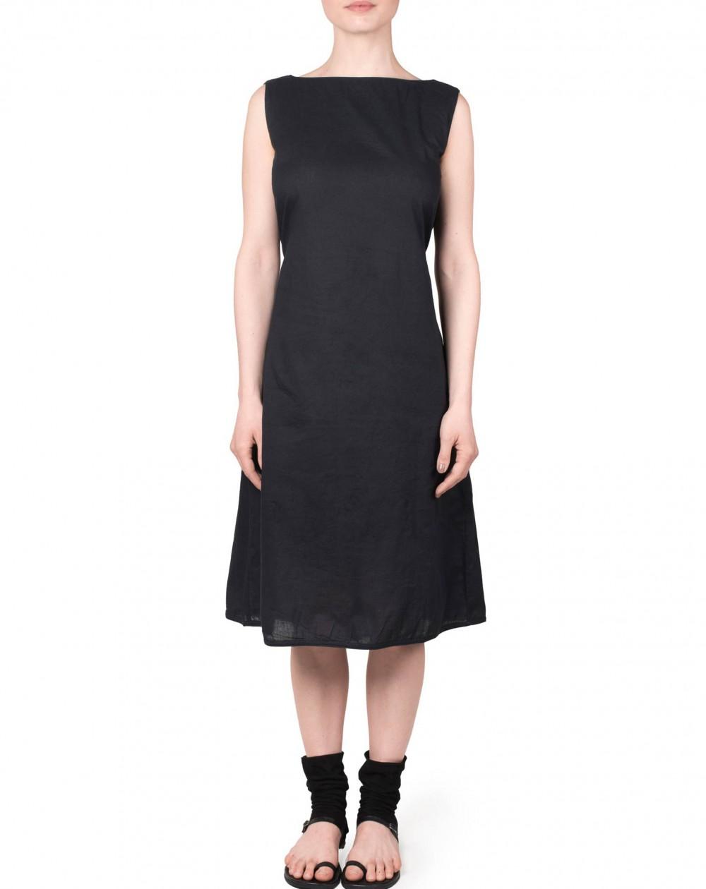"Robe ""dos devant"" noir"