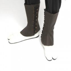 Guêtres Coton kaki