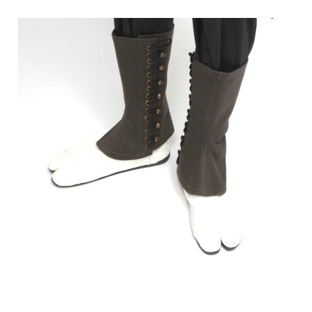 Leggings cotton kaki