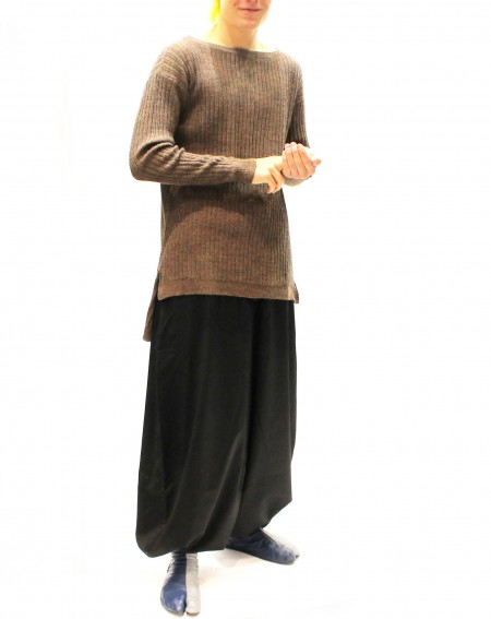 Nikka Long Trousers in Wool