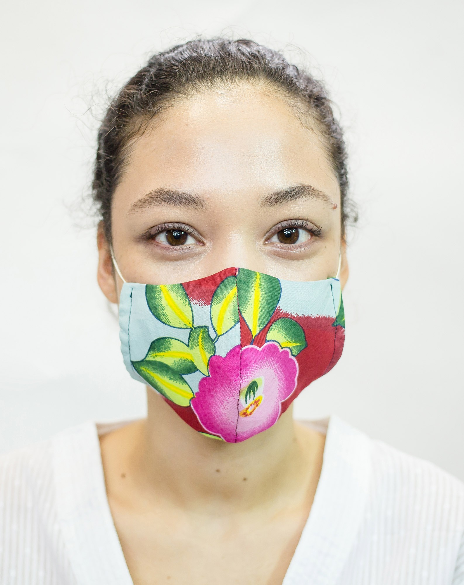 Masque de protection Camélia