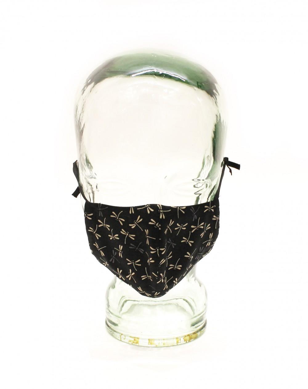 Masque de protection libellules
