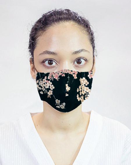 Masque de protection fleurs de cerisiers