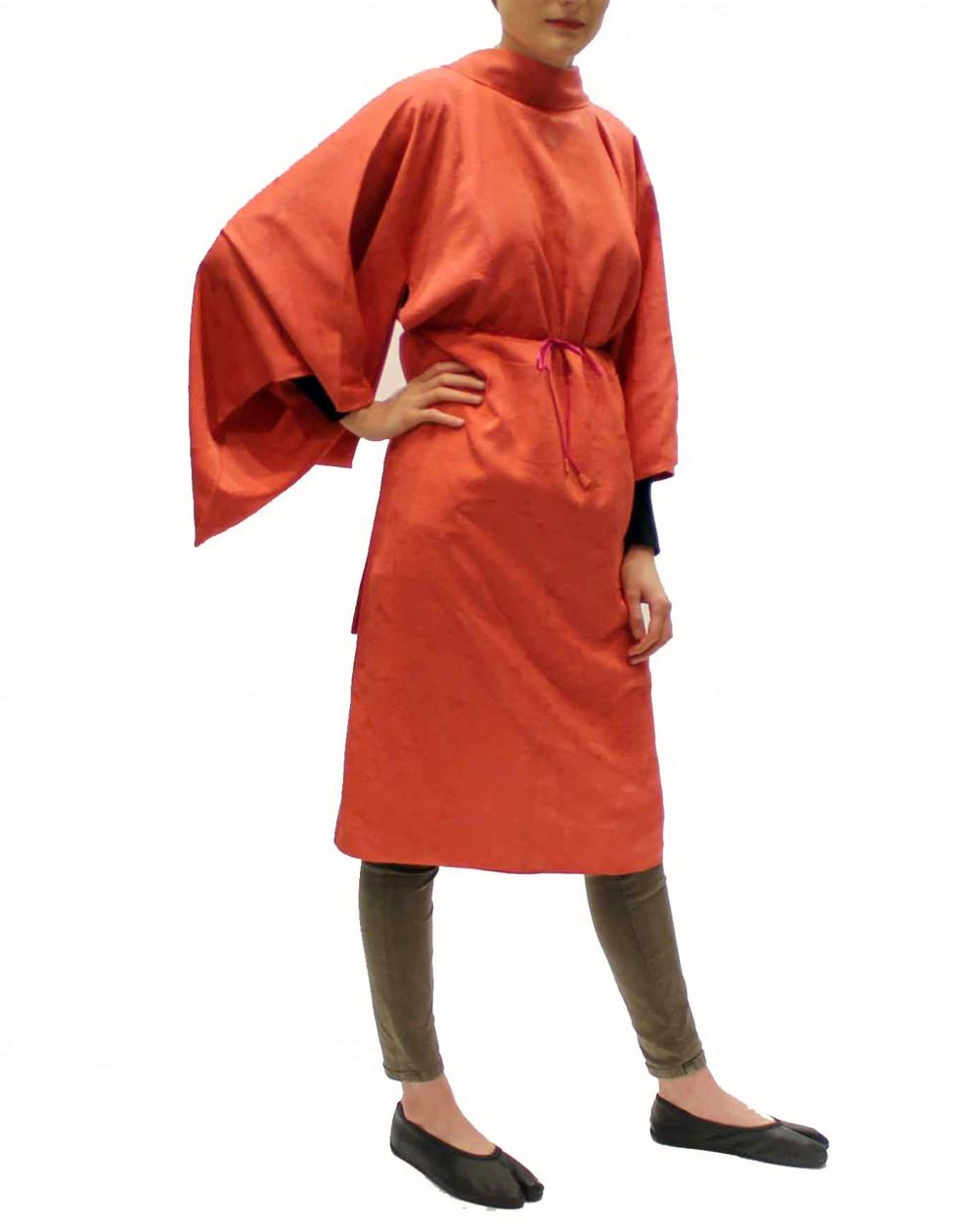 Kimono tunique rose