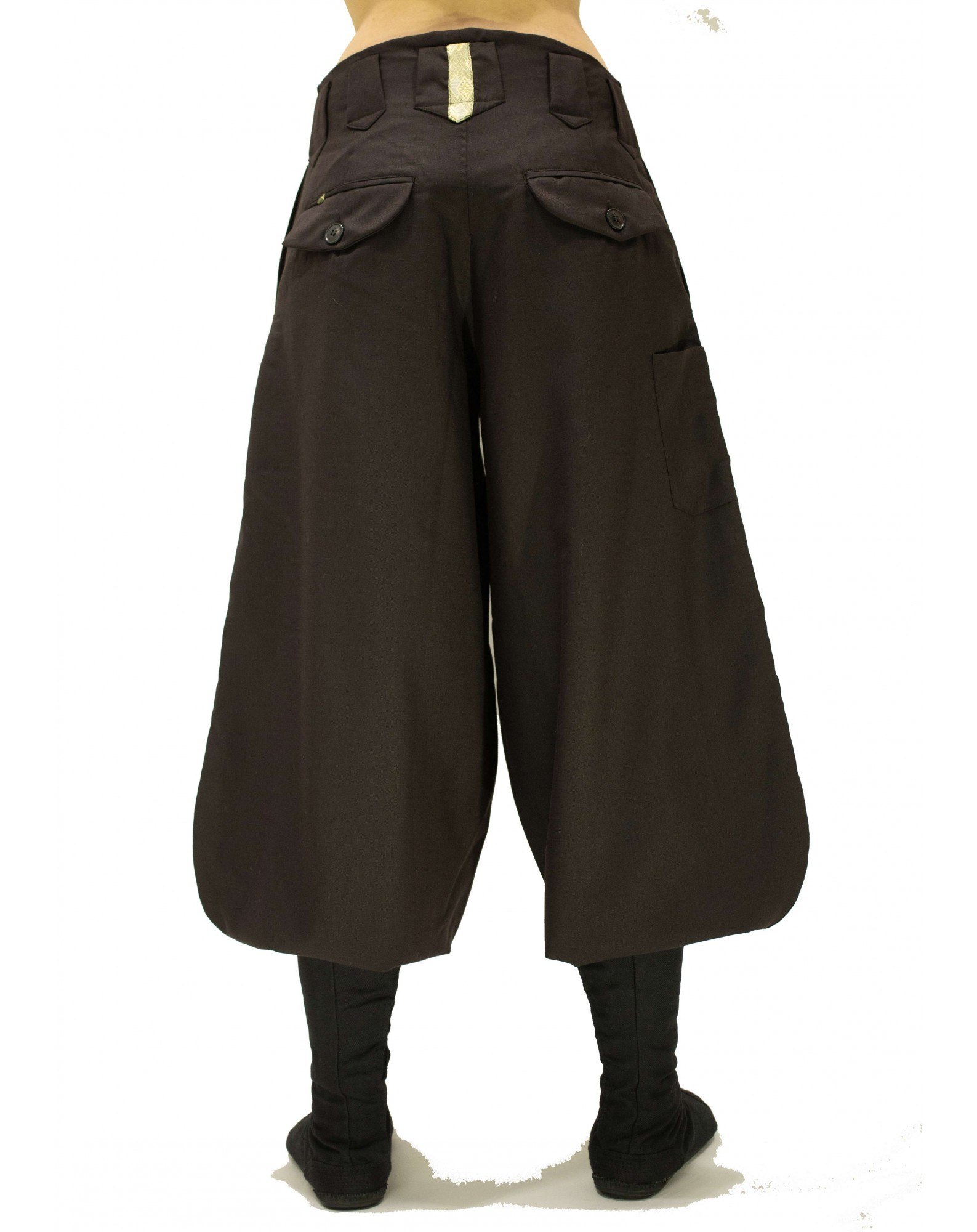 Nikka Trousers mi-long in Wool