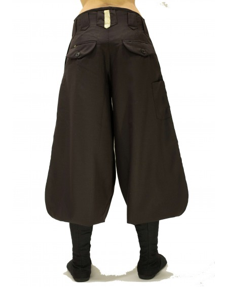 Nikka Trousers mi-long in Wool