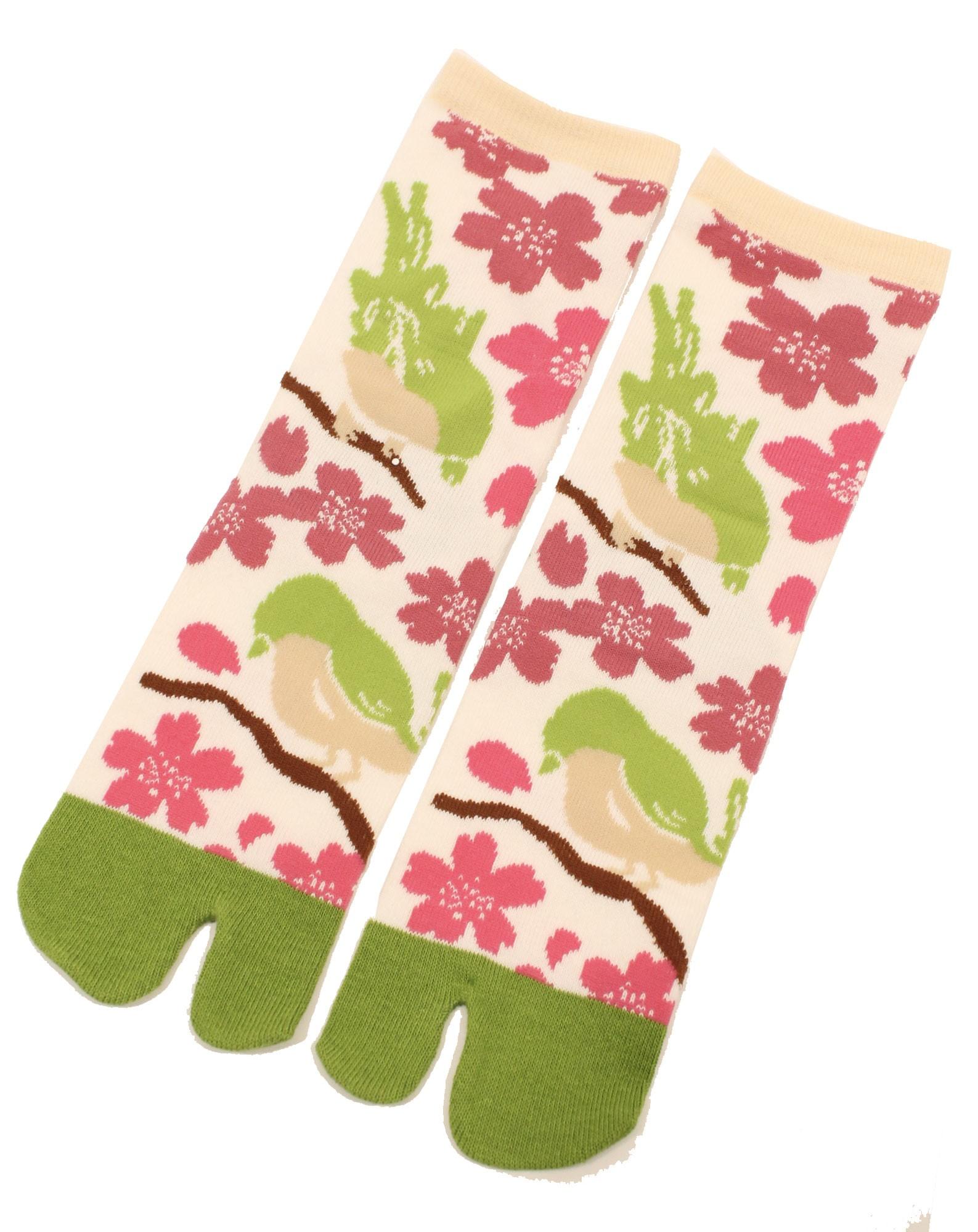 Chaussettes TABI Sakura