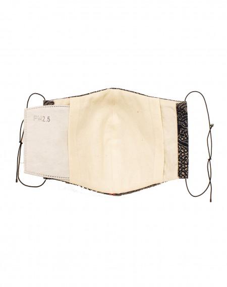 Masque avec poche pour le filtre